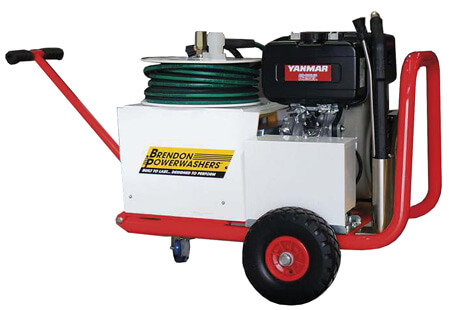 Industrial diesel engine pressure washer for hire 3000psi